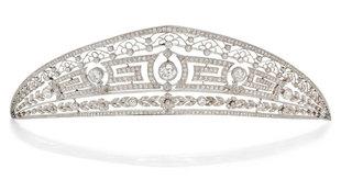 La tiara que Bonhams subasta perteneciente a la condesa Esperanza...
