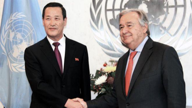 Pide Norcorea a EUA clima de confianza para desnuclearización