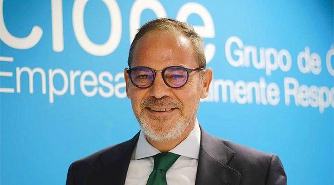 Miguel Ángel García, director general de Cione.