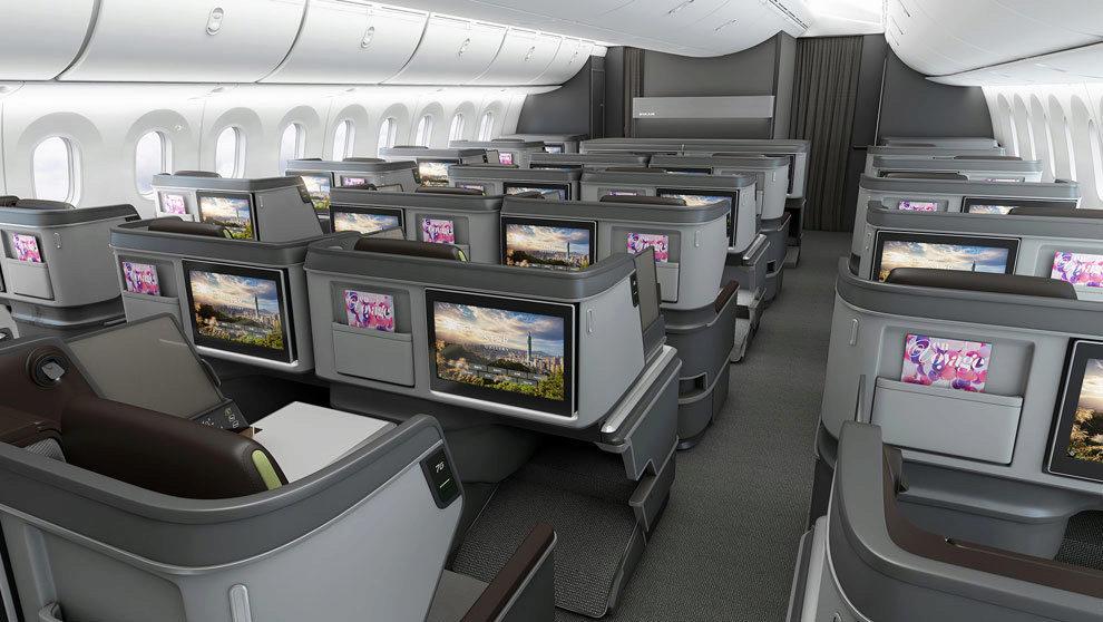 Designworks,es el creador de un asiento de alto vuelo que opera en...