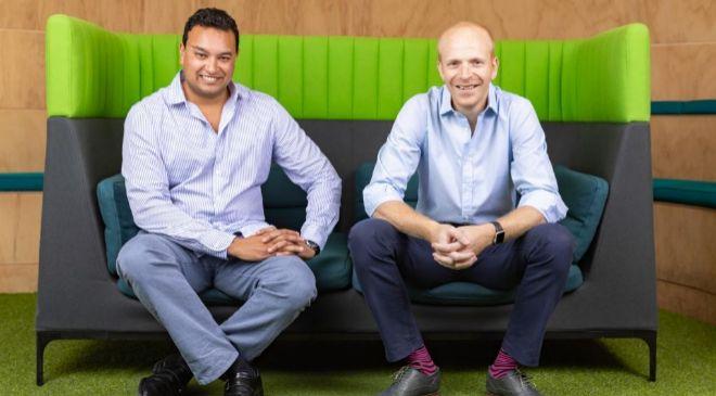 Samir Desai, CEO y cofundador, y James Meekings, cofundador de Funding...