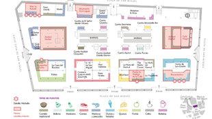 Infografía de la nueva vida al Mercado de San Miguel, con la...