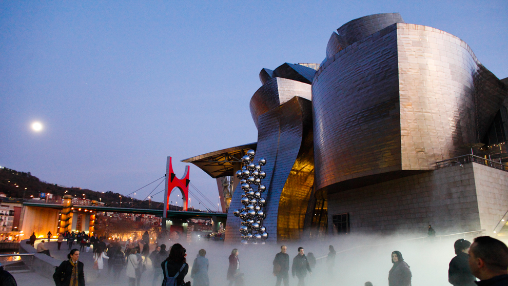 El Museo Guggenheim.