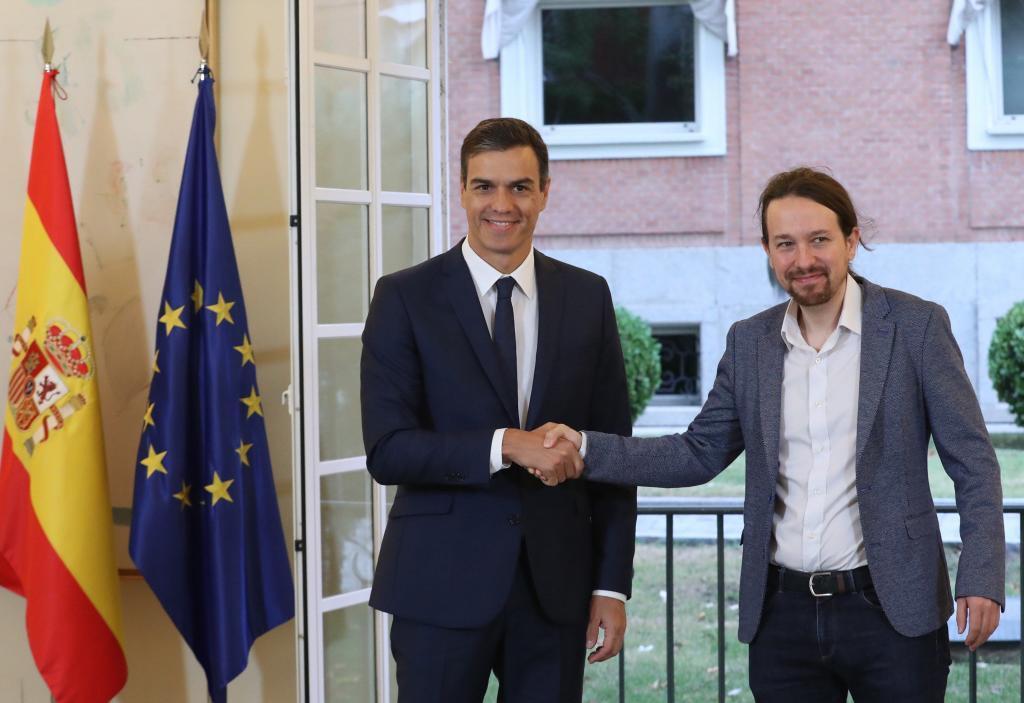 El Gobierno y Podemos consensuaban las medidas para apoyar las Cuentas...