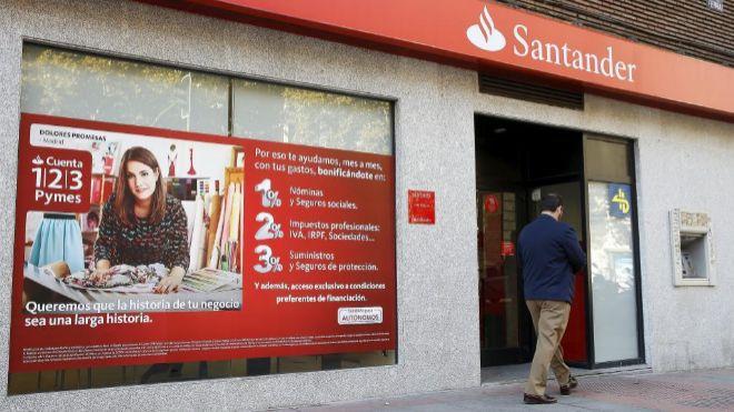 Santander limita a 1.000 euros el saldo remunerado de su Cuenta 1|2|3