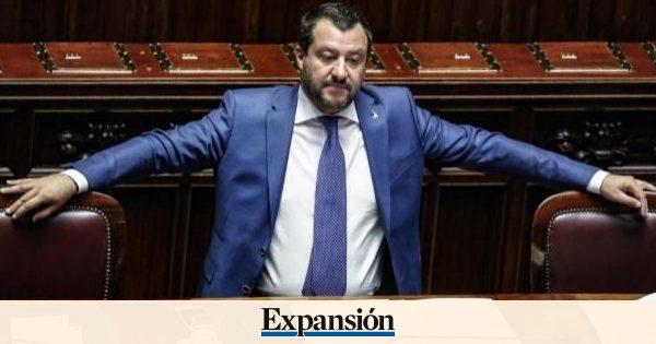 Nervios entre los inversores por la lucha de Salvini con Bruselas