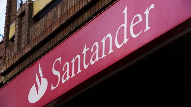 Cómo cobrar el próximo dividendo de Santander. En la imagen, una...