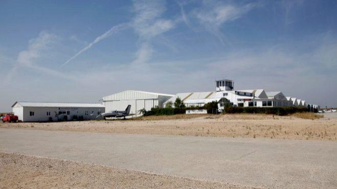 Aerodromo de Casarrubios, en una imagen de archivo.
