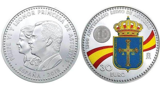 ESPAÑA: La polémica moneda con la imagen de la Princesa Leonor sale mañana a la calle