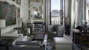 La suite 216 del Gritti Palace, en Venecia, rinde tributo a la...