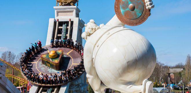 Asterix es la figura central de este parque de atracciones que abrió...