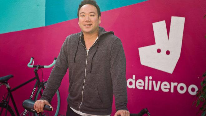 Will Shu, consejero delegado y cofundador de Deliveroo.