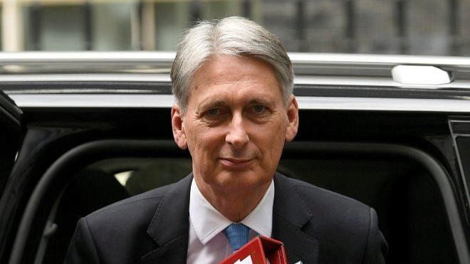 Philip Hammond, ministro británico del Tesoro