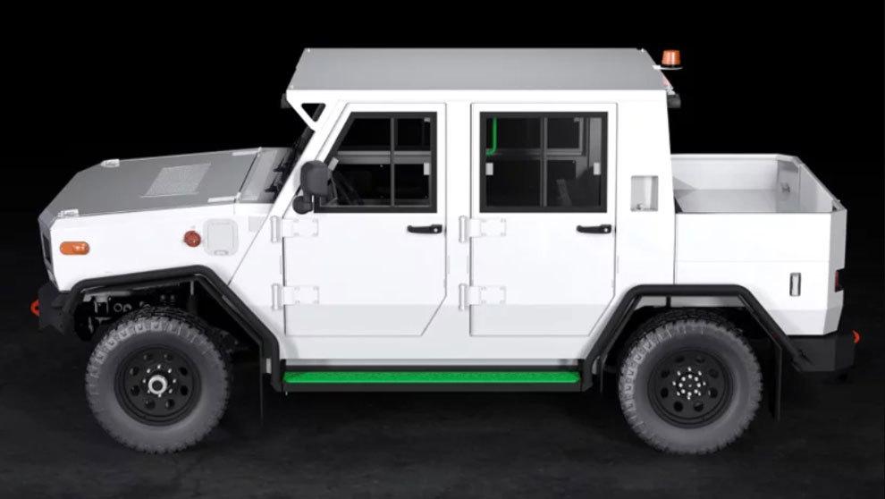 """STEV (de las siglas de """"subterranean electric vehicle"""", en..."""