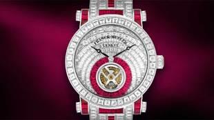 El reloj de Cristiano Ronaldo pertenece a la marca Franck Muller...
