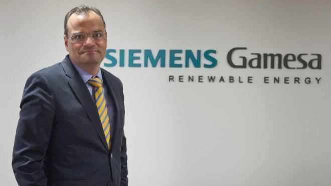 Markus Tacke, consejero delegado de Siemens Gamesa.