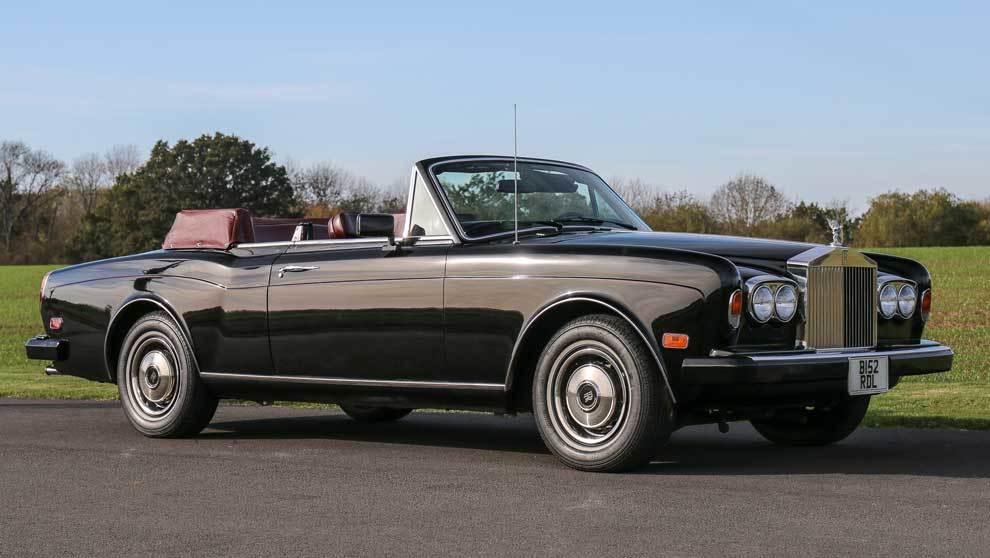 El Rolls- Royce de Frank Sinatra de 1984 se subastará por un precio...