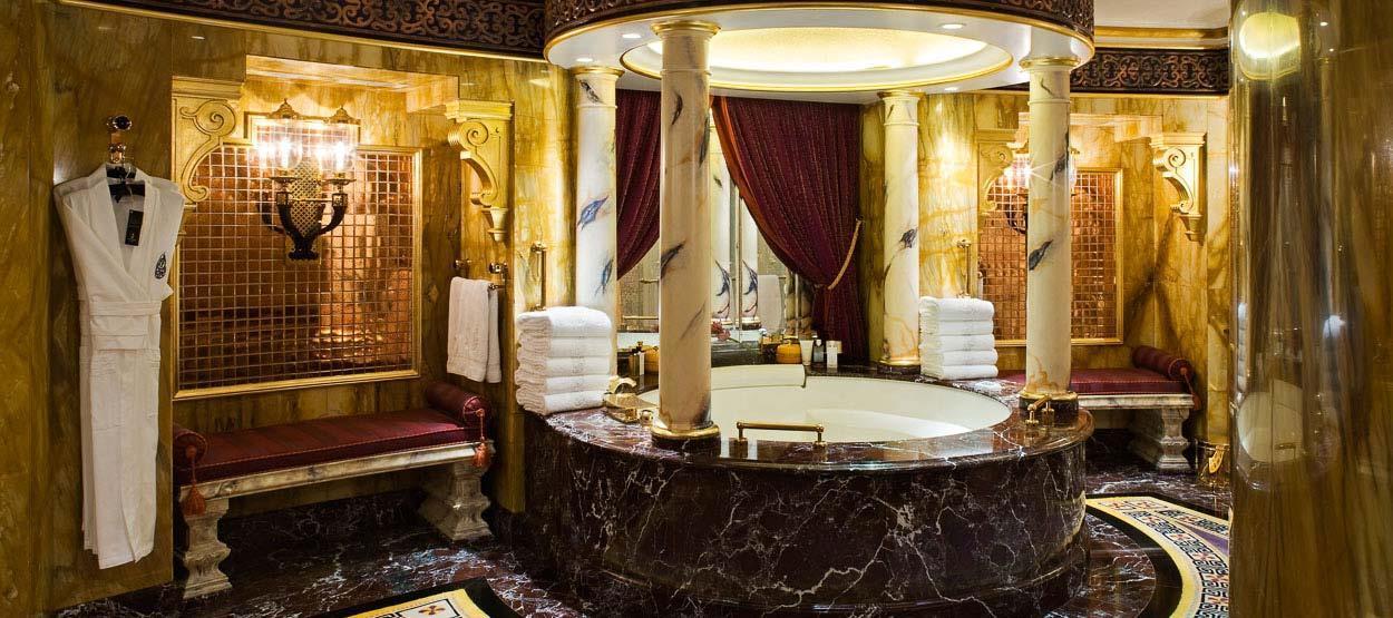 Bautizado por los clientes como el hotel más lujoso del mundo, este...