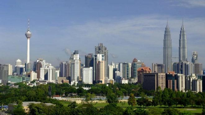 Vista de Kuala Lumpur, capital de Malasia.