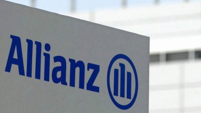 Sede de Allianz en Unterfoehring, cerca de Múnich (Alemania).