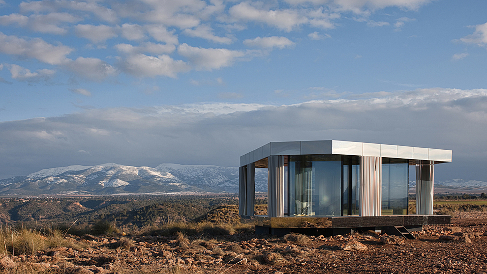 casa del desierto en gorafe