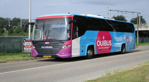 Auobús de la empresa Ouibus.