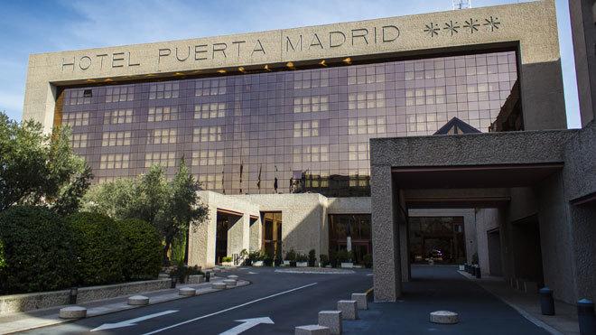 Hotel Puerta Madrid.
