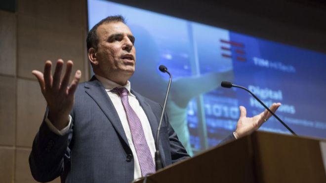 Amos Genish, hasta hoy consejero delegado de Telecom Italia.