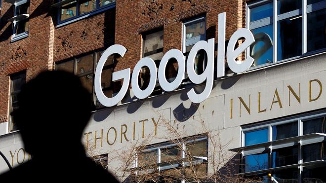 Oficinas de Google en Nueva York.