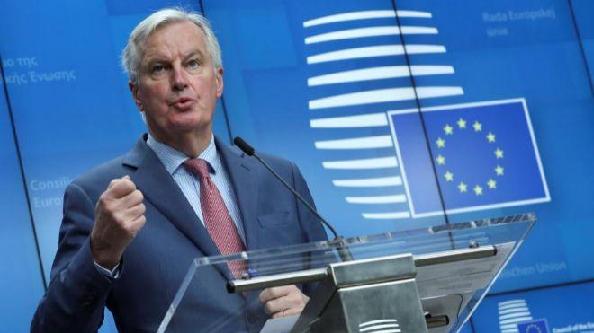 Barnier asegura que la UE apoya el acuerdo preliminar sobre el Brexit