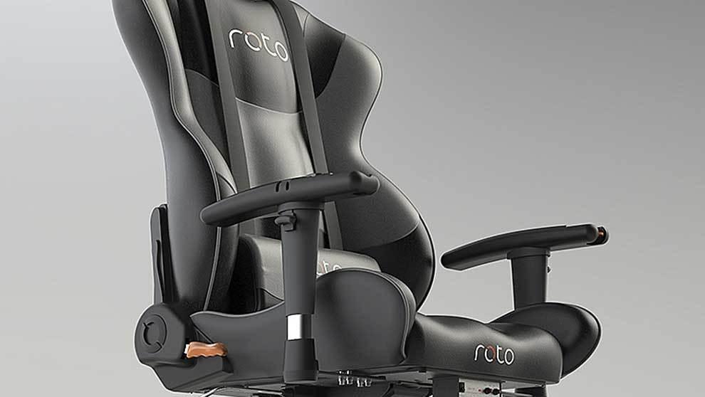 El RotoVR. Incluye: silla, volante, pedales, base motorizada. Precio:...