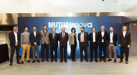 De izq. a dcha.: Miguel Vicente, presidente y cofundador de Antai;...