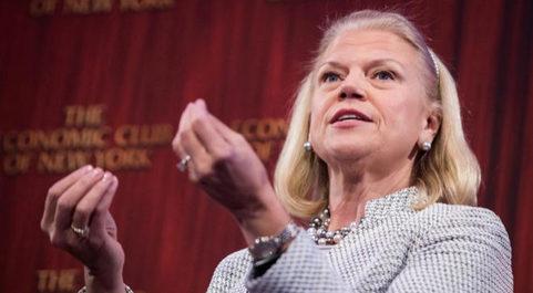 La presidenta y CEO de IBM, Ginni Rometty.