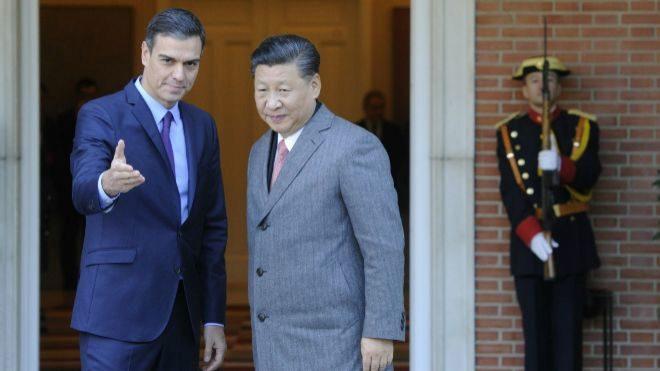 Xi Jinping recibe la llave de Madrid, ciudad que considera