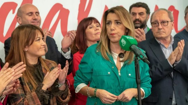 Los posibles pactos electorales tras los comicios — Elecciones andaluzas