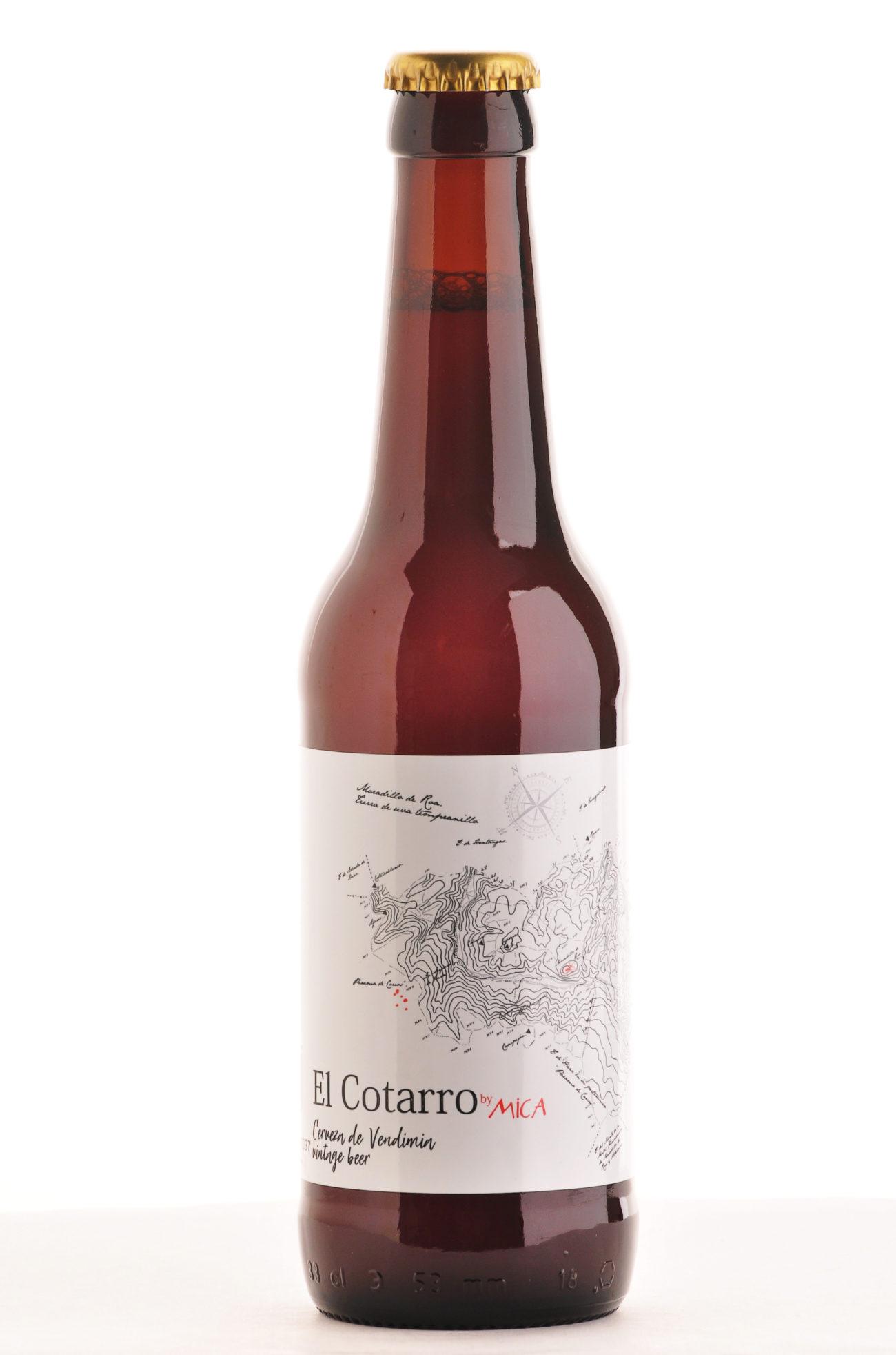 La empresa burgalesa elabora su cerveza con uva tempranillo procedente...