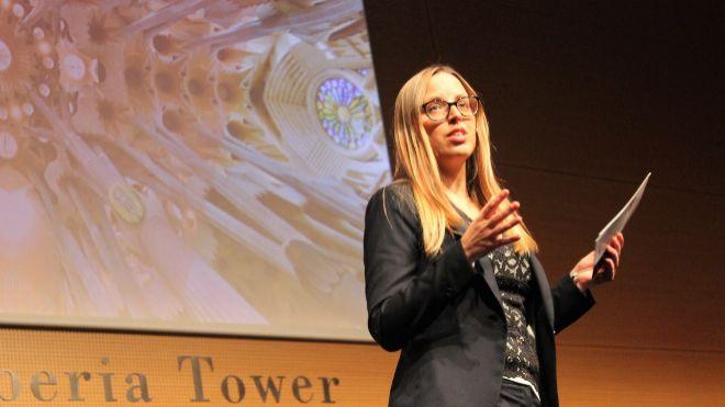 Victoria Gago, cofundadora de la European Blockchain Convention.