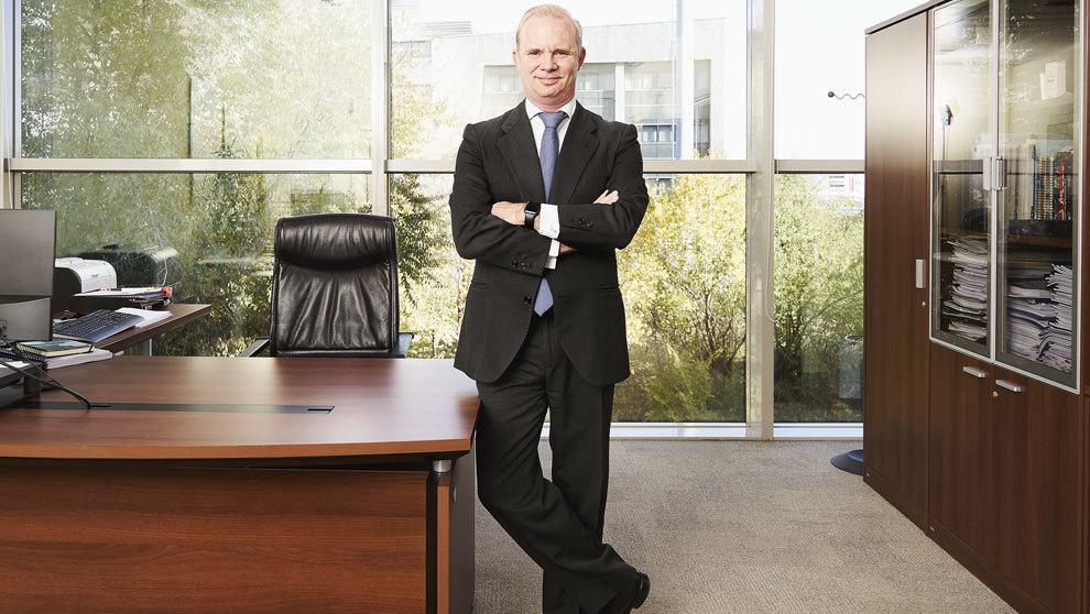 MOTOR. Polo Satrústegui, 52 años, director general de Hyundai...