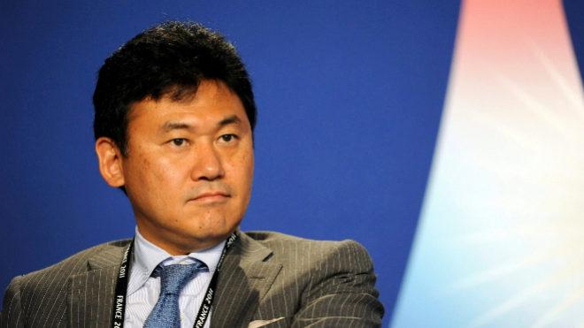 Hiroshi Mikitani, fundador de Rakuten.