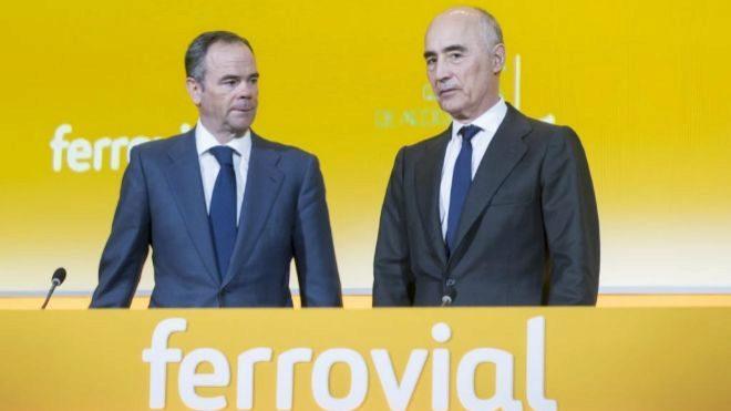 Íñigo Meirás (izquierda) y Rafael del Pino, consejero delegado y...