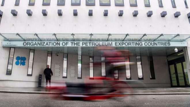 Vista de la sede de la Organización de Países Exportadores de...