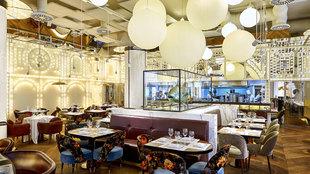 La decoración de BiBo Madrid destaca por tener centenares de...