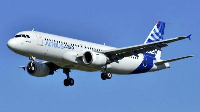 Airbus A320.