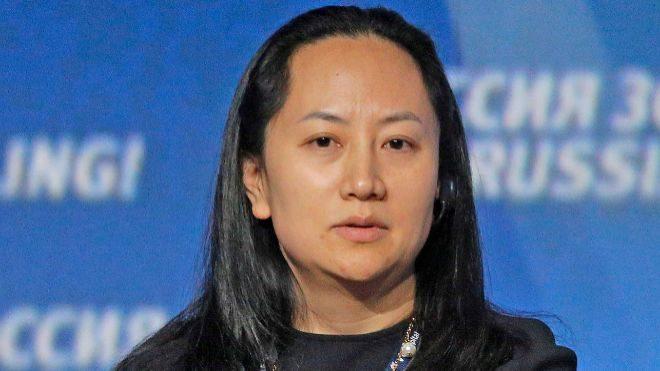 Meng Wanzhou, la directora financiera de Huawei.