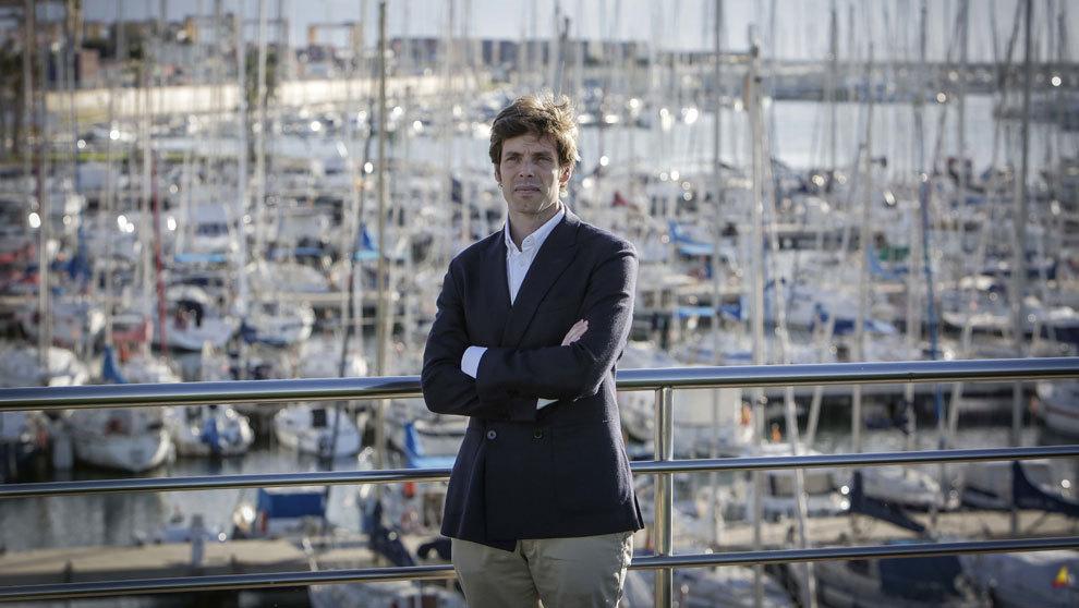 El nuevo director del Real Club Náutico de Valencia, Carlos de...