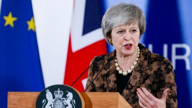 Nuevo referéndum dañará la integridad de nuestra política — Theresa May