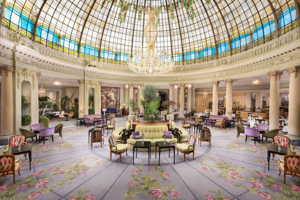 Interior del Hotel Villa Magna en Madrid.