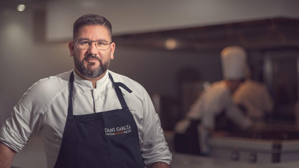 El chef Dani García ha conseguido tres estrellas Michelin...