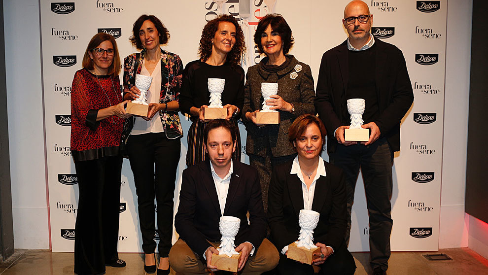 De izq. a dcha: Yolanda Ortiz y Amaya Cervera, de Spanish Wine Lover,...