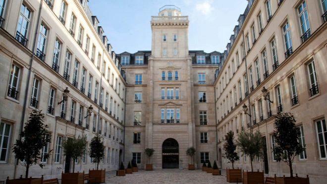 Sede de Capzanine en París.